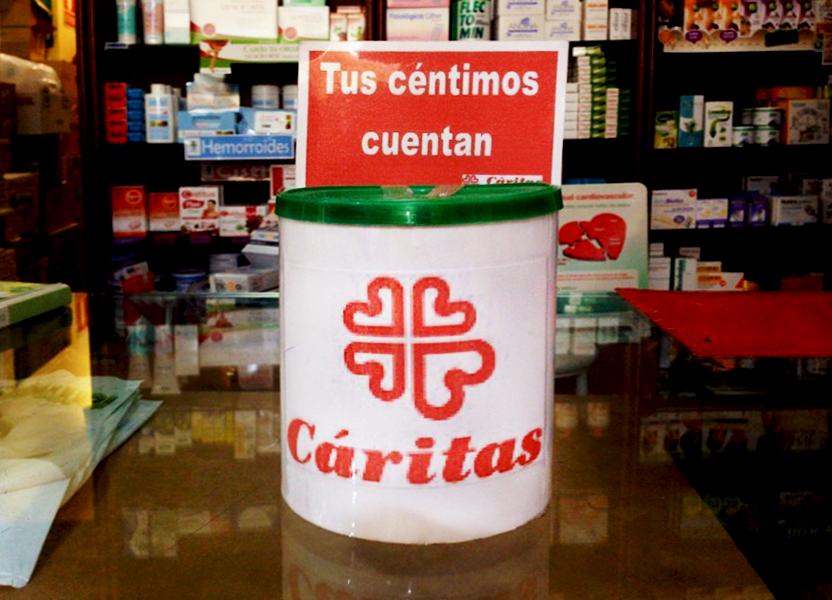 colaboracion con Caritas
