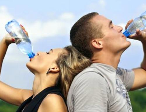 Hidratación deportiva y calor