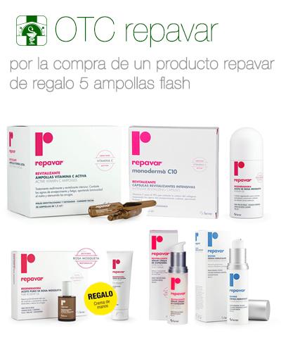 Promoción OTC Repavar Farmacia El Puente, La Zubia, Granada