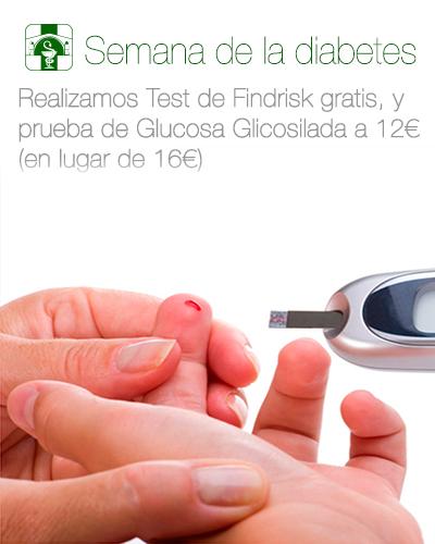 prueba glucosa glicosilada Farmacia El Puente La Zubia Granada
