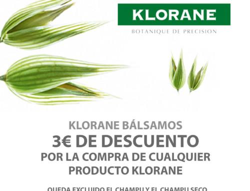 Promoción Klorane bálsamos